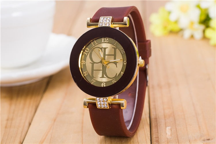 2018 New arrival Luxury Women wathch leather strap  Dress Quartz Womens Wrist Watches Ladies Crystal Silicone Relojes clock