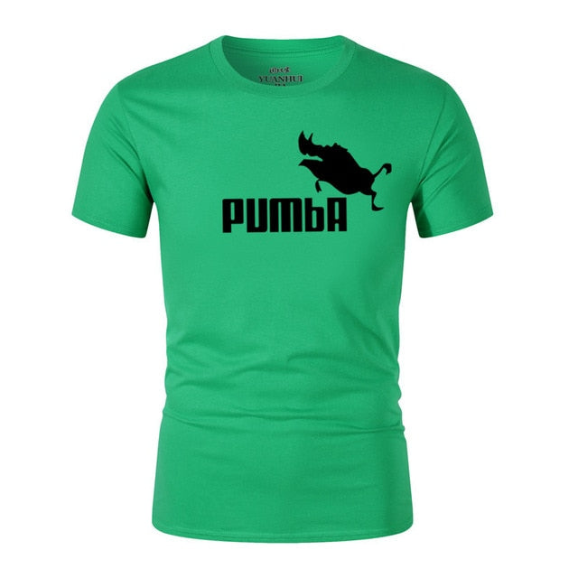 83c9903d1 2018 funny tee cute t shirts homme Pumba men woman 100% cotton cool tshirt  lovely