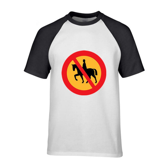 new product bc02e faf9f 2018 horse riding mens Sleeves t shirt horse riding print hotline miami  kyrie irving jersey imagine dragons