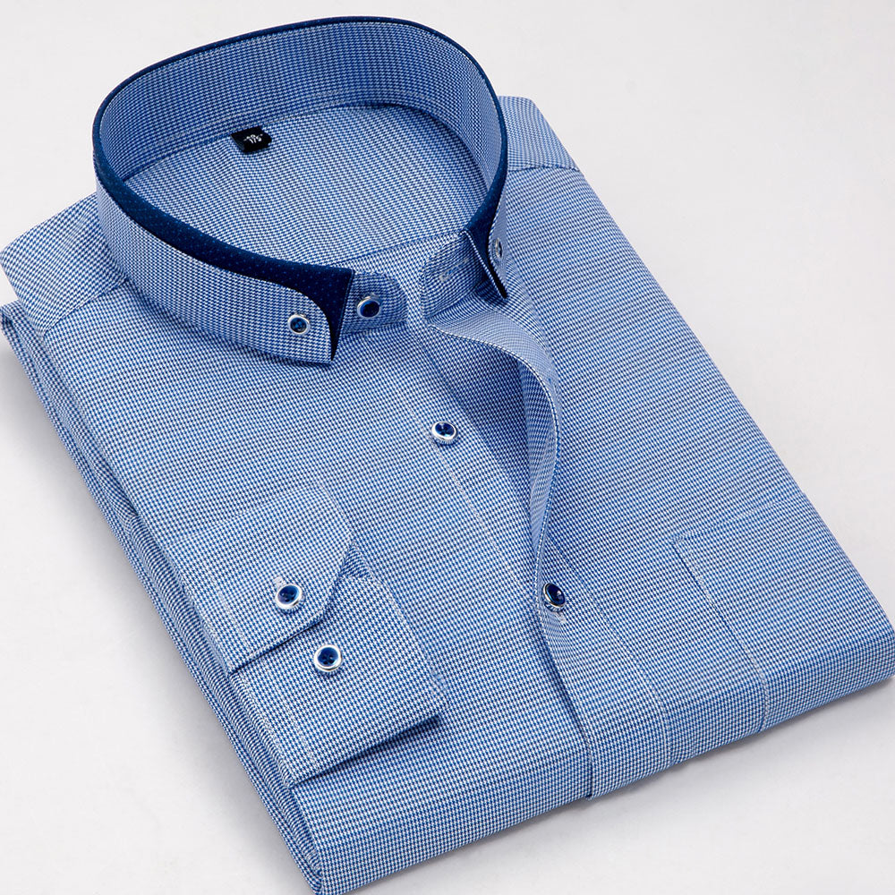 Mens Dress Shirts Double Button Collar Bcd Tofu House
