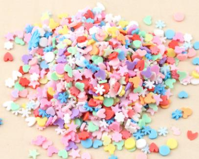 20g Slime accessories Clay Sprinkles decoration For Slime Filler DIY  slimeSupplies Fake chocolate Cake Dessert Mud Particles Toy