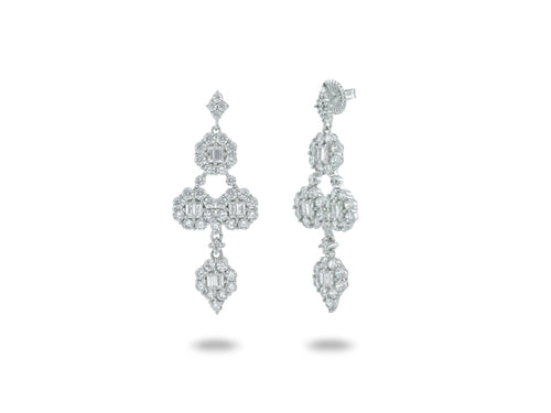 Chandelier Bridal Earrings