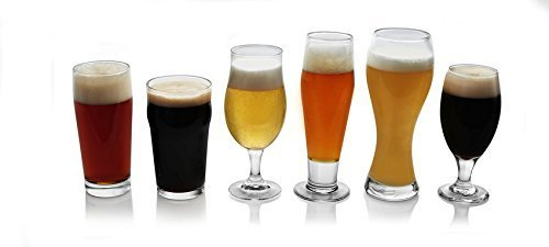 Libbey Craft Brews 6-piece Assorted Beer Drinkware Glass Set