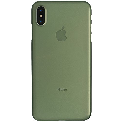 get cheap 12e6a c8936 iPhone X Case, Thinnest Cover Premium Fit Ultra Thin Light Slim Minimal  Anti-Scratch Protective - For Apple iPhone X | totallee (Deep Green)