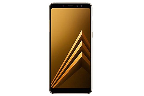 Samsung Galaxy A8 Plus (SM-A730F/DS) 6GB / 64GB 6.0-inches LTE Dual SIM Factory Unlocked - International Stock No Warranty (Gold)