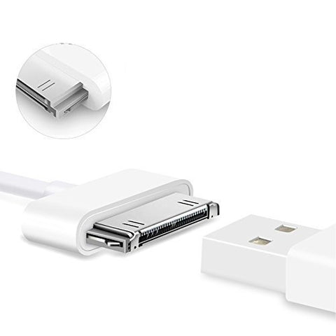 iPhone 4S Cable, OoRage 30-Pin USB Cable Sync Charging Cable For iPhone 4/4S, iPhone 3G/3GS, iPad 1/2/3 iPod (4 Pack)