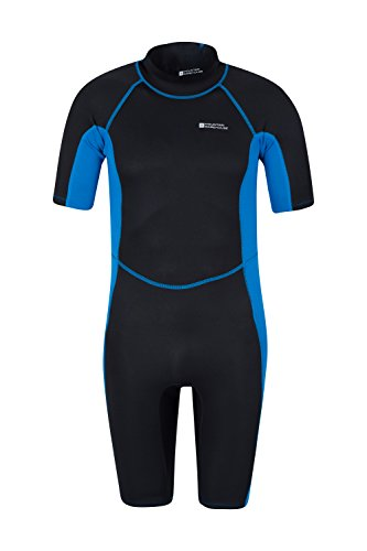 Mountain Warehouse Shorty Mens Wetsuit – Neoprene One Piece Swim Suit