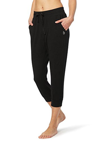 Baleaf Women's Active Yoga Lounge Jogger Capri Pocket Sweat Pants