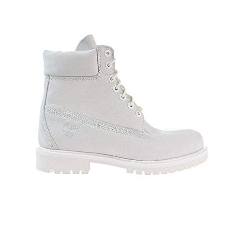 Timberland 6 Inch Waterproof Mens Boots Ghost White Waterbuck a1m6q (10 D(M) US)