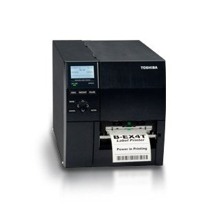 "Toshiba BEX4T2HS12M01 BEX4T2 Thermal Barcode Printer, 600 dpi, 6 ips, LAN, USB, 4"" Wide"