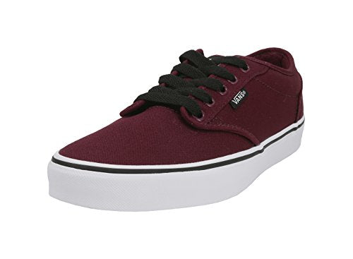 Vans Atwood Canvas Oxblood Red/White Shoes Unisex Men/Women Sneakers (8.0 Men/9.5 Women)