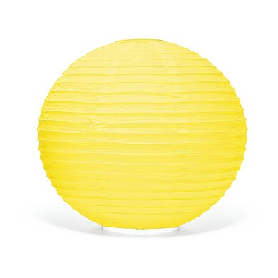"Yellow Paper Lantern Chandelier Wedding Decorations, 12"" (3 Pack) - Hanging Lamp, Yellow Party Supplies, Outdoor Lights, Japanese Lanterns, Ceiling Lights"