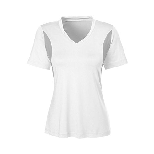Ash City Apparel Team 365 Ladies Short-Sleeve Athletic V-Neck All Sport Jersey