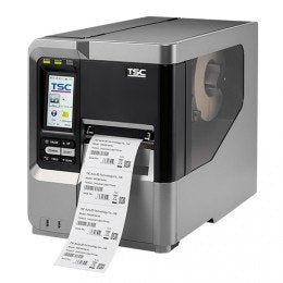 TSC 99-051A003-00LF Series MX640 Industrial Thermal Transfer Bar Code Printer, 600 dpi Resolution, Color LCD Touch Display, 256 MB SRAM, 128 MB Flash SD Card Slot, Ethernet/USB/RS-232 Port