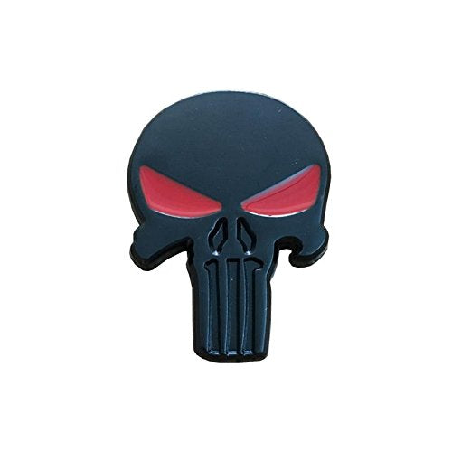 Exterior Accessories - Metal Skull Sticker Skull Totem Car Decoration Sticker - Metal Skull Stickers Sticker Decals Motorcycles Punisher Automotive Auto Decal Truck Accessories Emblem - For - 1PCs
