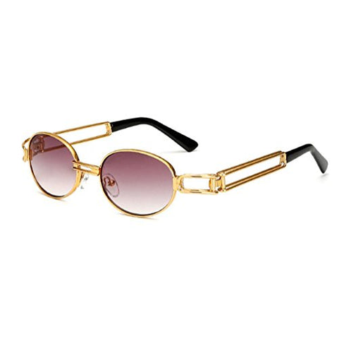 Honhui Hot Vintage Mirrored Eyewear Sports Sunglasses For Men And Women (B)