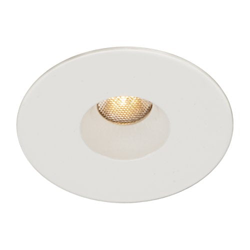 WAC Lighting HR-LED231R-27-WT LEDme Mini 2-Inch Recessed Downlight - Open Reflector - Round Trim Remote Transformer, 2700K