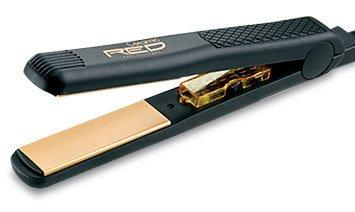 "ceramic flat iron RED (1 "") Ceramic Hot Styler FLAT IRON , ONE inch ceramic hair straightener"