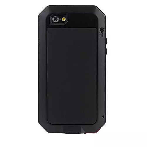 new product 76964 934b6 iPhone 8 Plus Case,iPhone 7 Plus Case,Gorilla Glass Metal Extreme  Shockproof Heavy Duty Cover Shell Case Full Body Protection for Apple  iPhone 8 ...