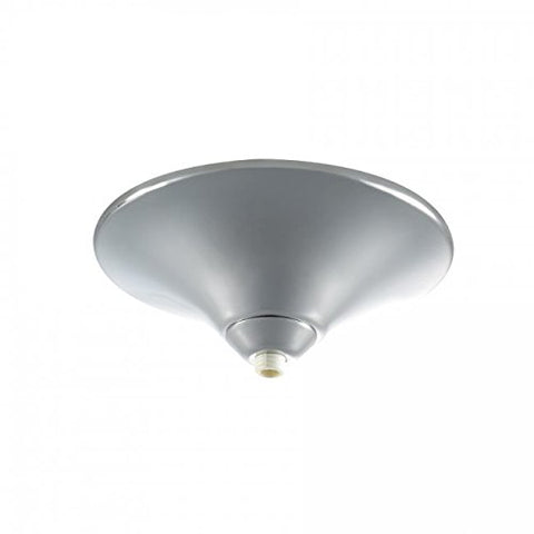 WAC Lighting QMP-60ERN-CH Surface Mount Canopy Metal for Quick Connect Pendants/Fixtures, Chrome