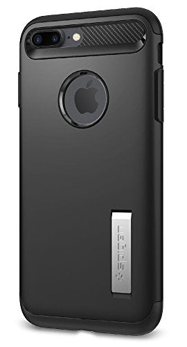 free shipping b97b3 62b5f Spigen Slim Armor iPhone 8 Plus / iPhone 7 Plus Case with Kickstand and Air  Cushion Technology Hybrid Drop Protection for Apple iPhone 8 Plus (2017) /  ...