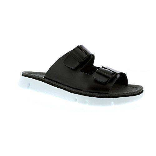 Camper Oruga 100286-001 Black (Leather) Mens Sandals 12 US