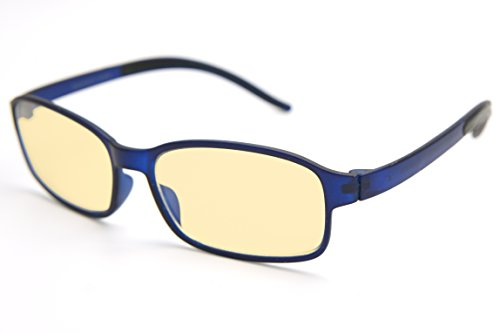 #1 Flexlite Uv Protection, Anti Blue Rays Harmful Glare Computer Eyewear Glasses (11. MATTE BLUE)