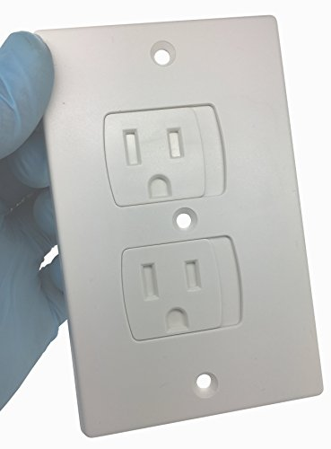 Self Closing Tamper Resistant Electrical Outlet Covers For Baby Proofi