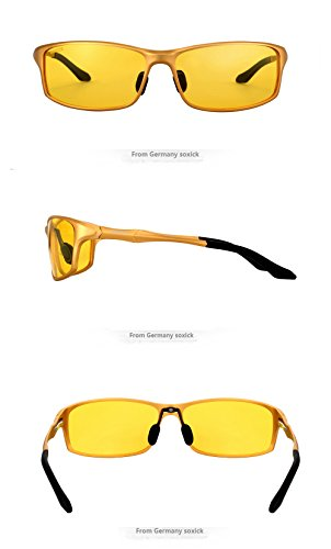 d31dd29f66c2 HOT Fashion Premium Night Driving Glasses Polarized Anti-glare Rain Day Men  Women Sport Sunglasses