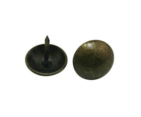 "Generic. Metal Bubble Nails 0.63"" Diameter Color Antique Brass for Sofa Decoration Pack of 30"