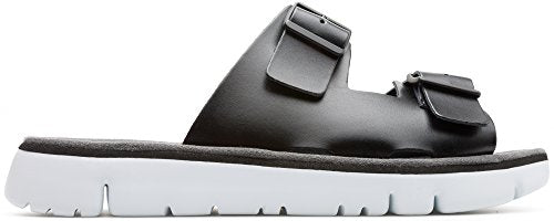 Camper Oruga 100286-001 Black (Leather) Mens Sandals 10 US