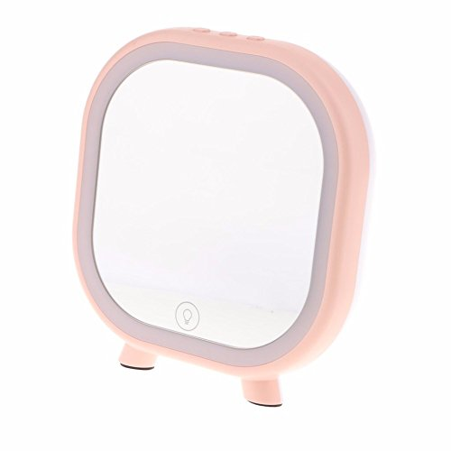Morjava YG-02 Creative Gift Vanity Makeup Mirror with LED Light & Bluetooth  Speaker Smart Touch LED Cosmetic Essential USB Charging