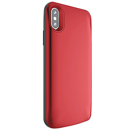 new product e4c6b 3eb5b iPhone X Battery Case, iPhone 10 Charging Case with 3800mAh Portable  Charger Case Rechargeable Extended Battery Pack Protective Backup Charging  Case ...
