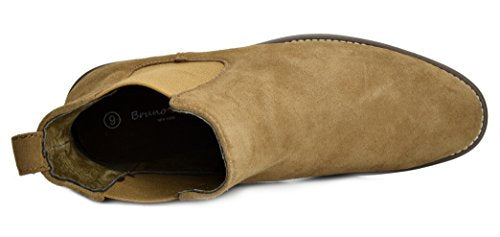 078d6cd85a162 Bruno Marc Men's Urban-06 Tan Suede Leather Chukka Ankle Boots - 9.5 ...