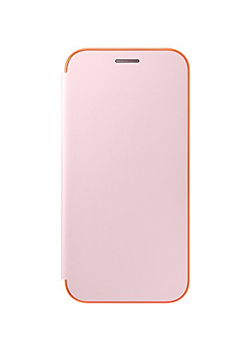 low priced c29af 318ae Galaxy A5 2017 Neon Flip Cover, Samsung Official Genuine Case (Pink)