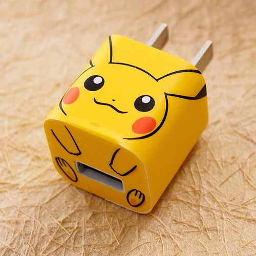 Pikachu iPhone Charger Stickers