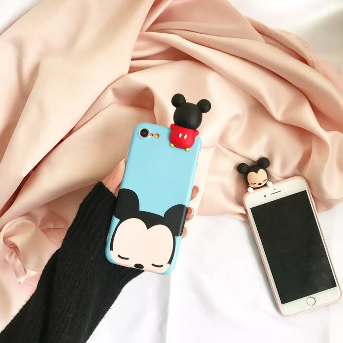 a1ebc71ad74 3D Cute Mickey Minnie Mouse Donald Duck Case For iphone 6 Plus Cartoon Case  For iphone