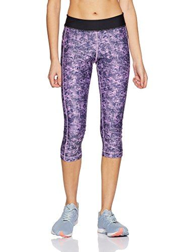 Under Armour Women's HeatGear Armour Printed Graphic Capris