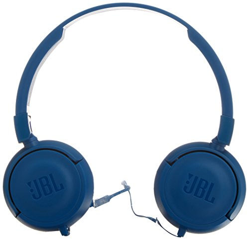 8649e508cd4 JBL T450 Pure Bass sound with 1-button remote with Microphone On-ear  Headphones
