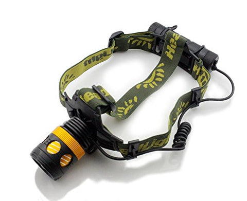 XM-L T6 LED Waterproof Zoom Focus Front Light LED zoomable HeadLamp HeadLight 3 Mode 3000 Lumens (included 2 x 5000mAh 18650 battery + Charger + Car charger)
