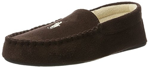 RALPH LAUREN Dezi II - Chocolate (Brown) Mens Slippers 9 US
