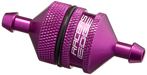 Racers Edge 10152P Small Fuel Filter, Purple