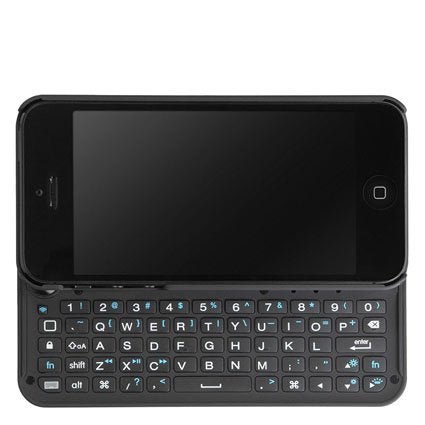 pretty nice 1499c 8a3fc BoxWave Keyboard Buddy iPhone 5s / 5 Case - Backlit Edition - Bluetooth  Keyboard Case with Integrated Apple Commands and Backlit Keys for Apple  iPhone ...