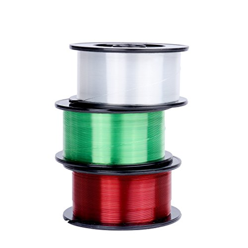 RUNCL Monofilament Fishing Line, Nylon Mono Line Fishing String 300Yds/274M with Zero Memory for Freshwater and Saltwater