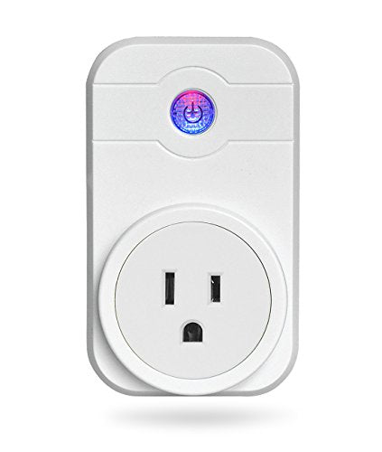 Alexa Smart Plug, Wi-Fi Mini Smart Outlet Socket No Hub Required Compatible  with Amazon Echo and Google Home Assistant, Wireless Switch Control Your