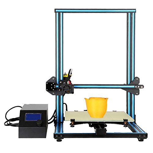 Creality3D Cr-10 3D Printer Large Size Desktop Diy Printer 150 Mm/S Lcd Screen Display (Black/Blue)