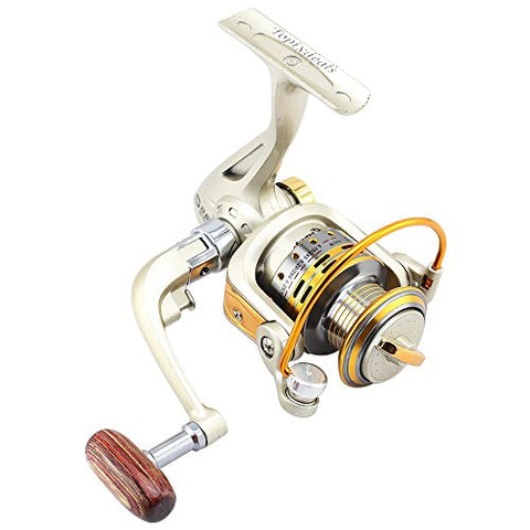 Topixdeals Ball Bearing Saltwater/ Freshwater Fishing Spinning Reel