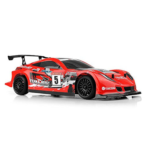 Team Energy 1/10 Scale X10DR Belt Drive Pro Drift Car Ready to Run with Dimension GT3X AFHDS 2.4ghz 3 Channel Radio System RC Car