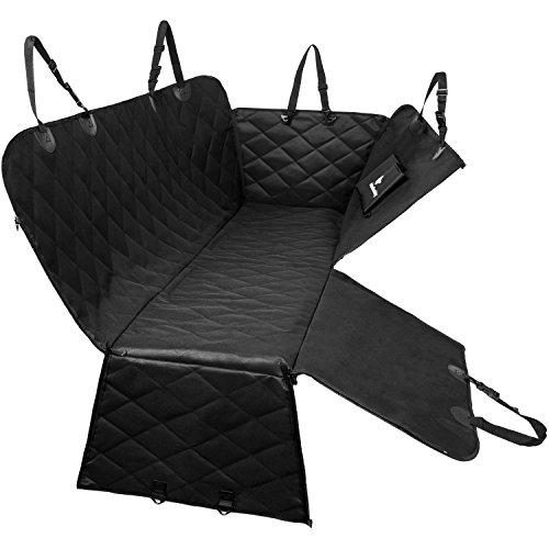 Bon Back Seat Cover For Dogs | Dog Car Hammock With Door Protector From Dog  Scratching |
