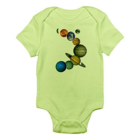 CafePress - Our Solar System Body Suit - Cute Infant Bodysuit Baby Romper